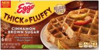 Egg - Thick & Fluffy Belgian Style Waffle